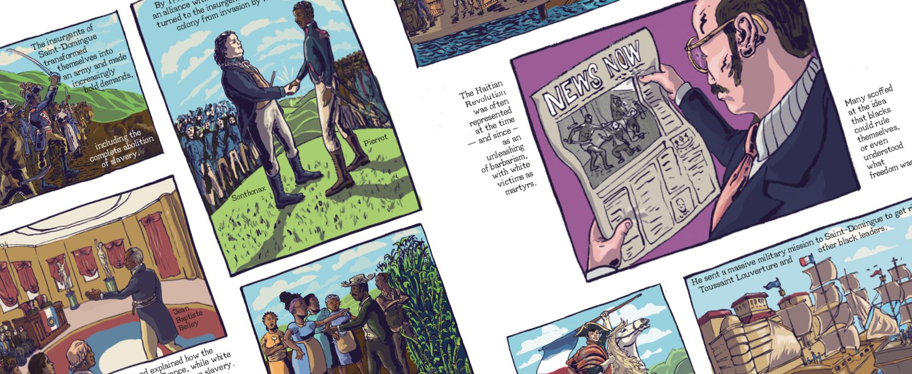 Haiti Comics graphic