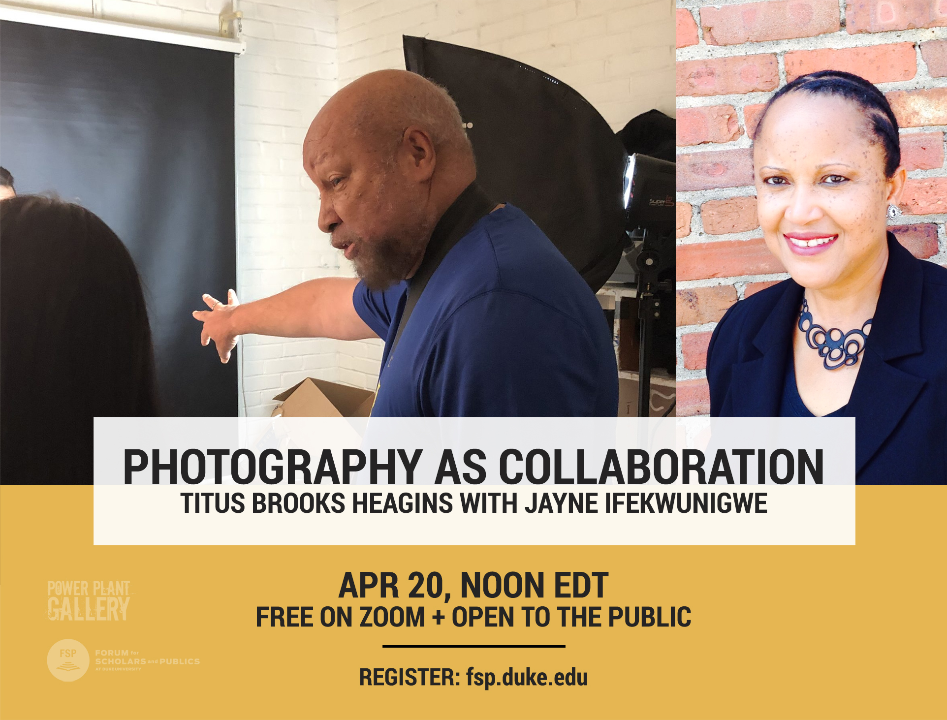 Photography As Collaboration with Titus Brooks Heagins