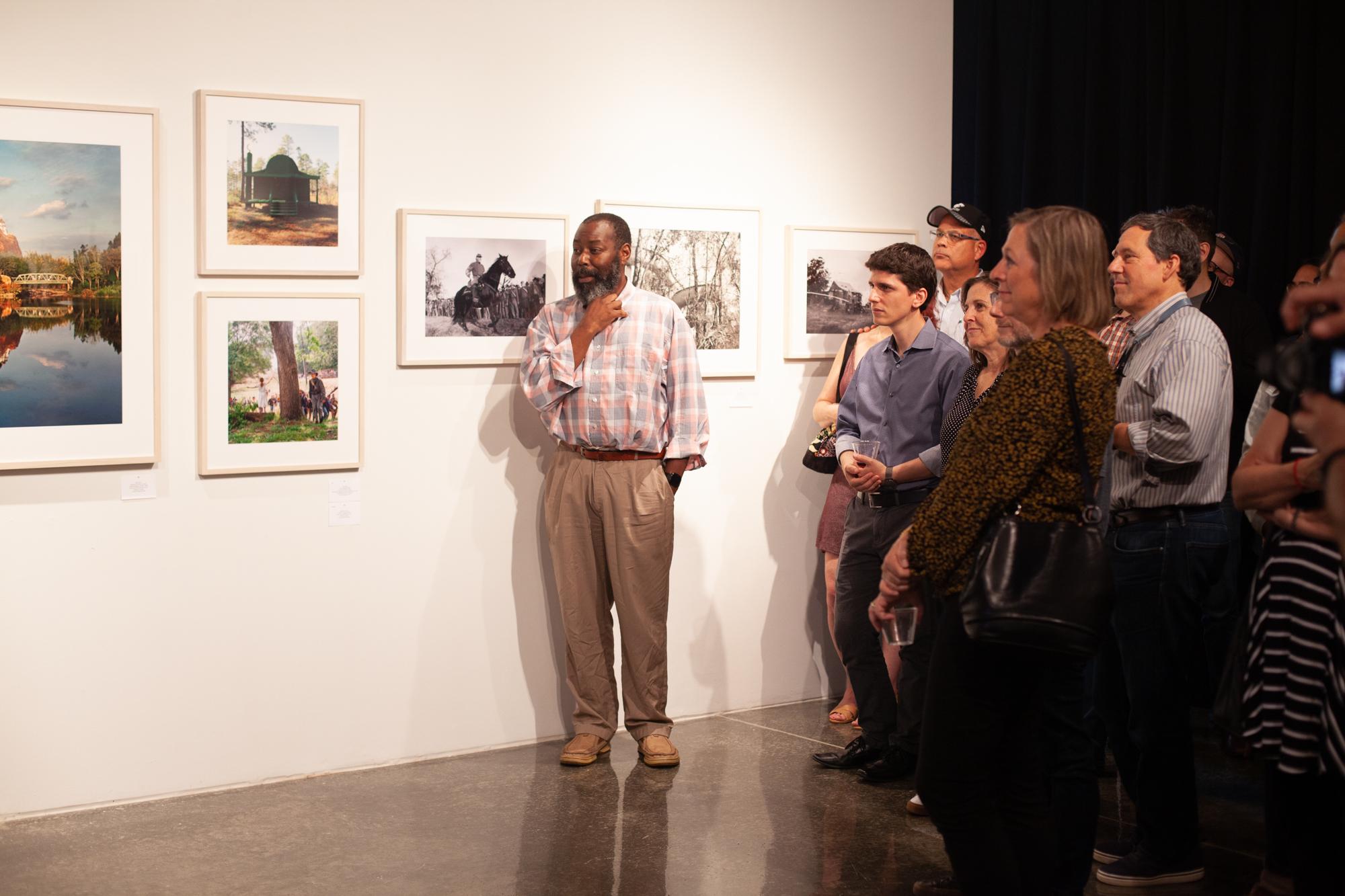 Randall Kenan at the Southbound Opening